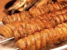 Картофель на шампуре