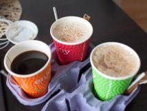 Кофе ЛАТТЕ с КАРАМЕЛЬЮ