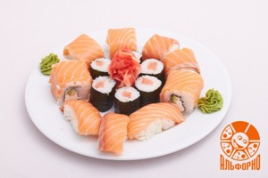 Доставка суши-сетов от 520 рублей